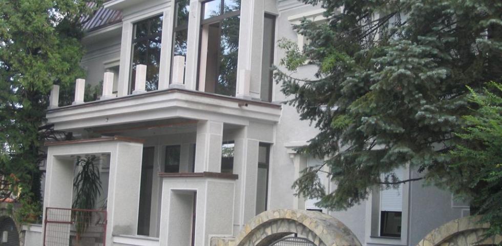 Izgled fasade iz ulice N.Protića, glavni ulaz