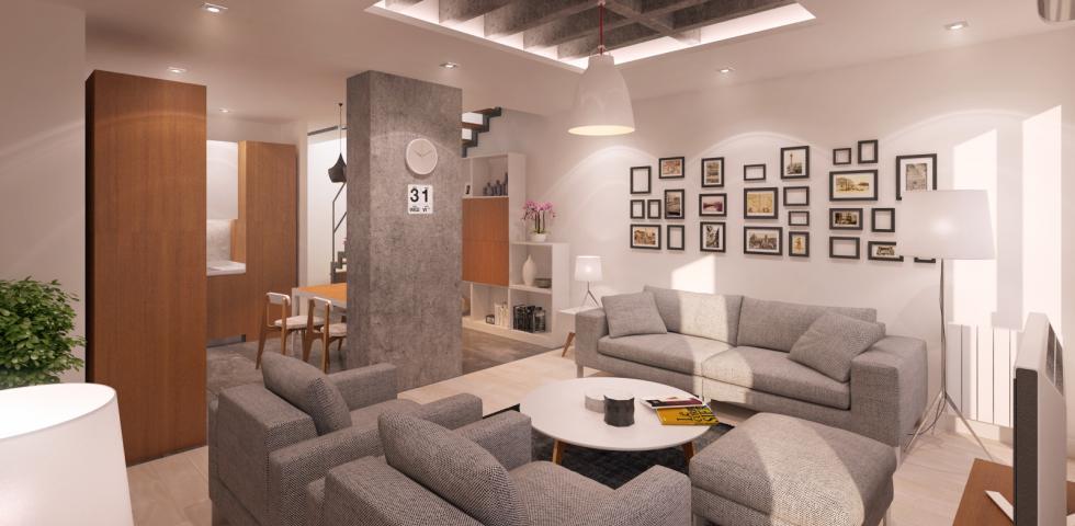 3d model - dnevna soba