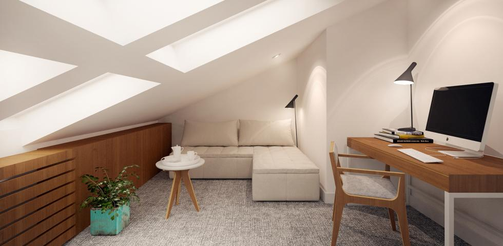 3d model - spavaca soba 1