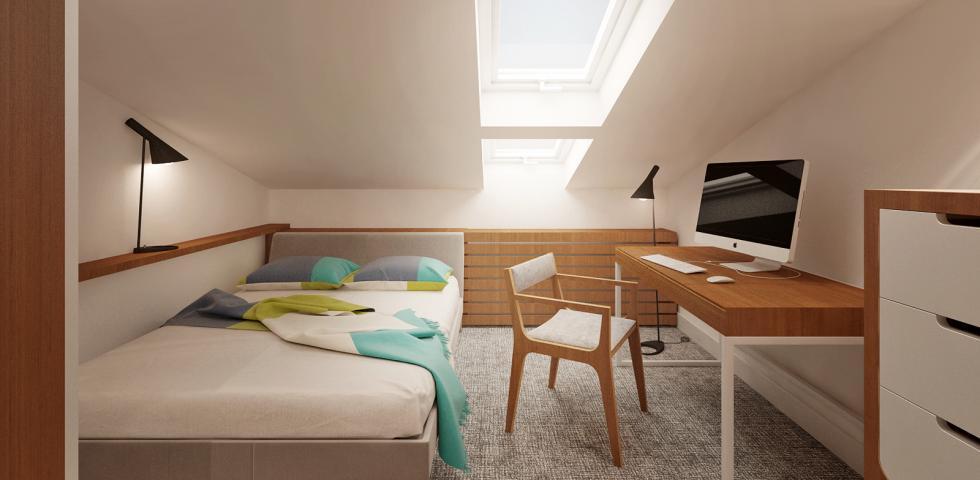 3d model - spavaca soba 2
